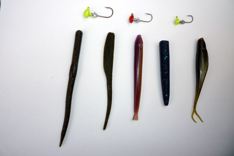 Midwest finesse tackle: lures
