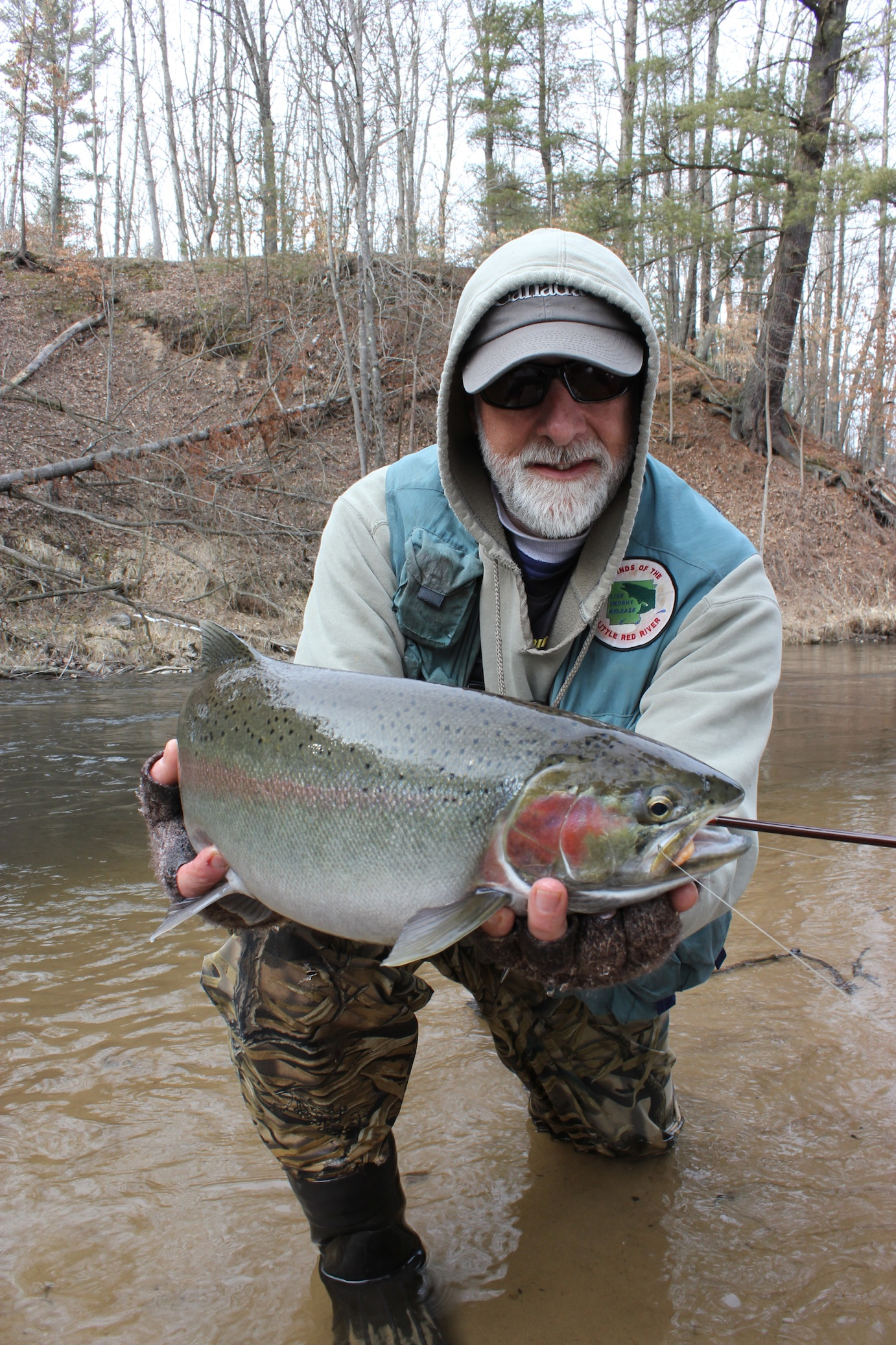 It's limbo. The time between. Fall-run steelhead often spawn by the end of February. The
