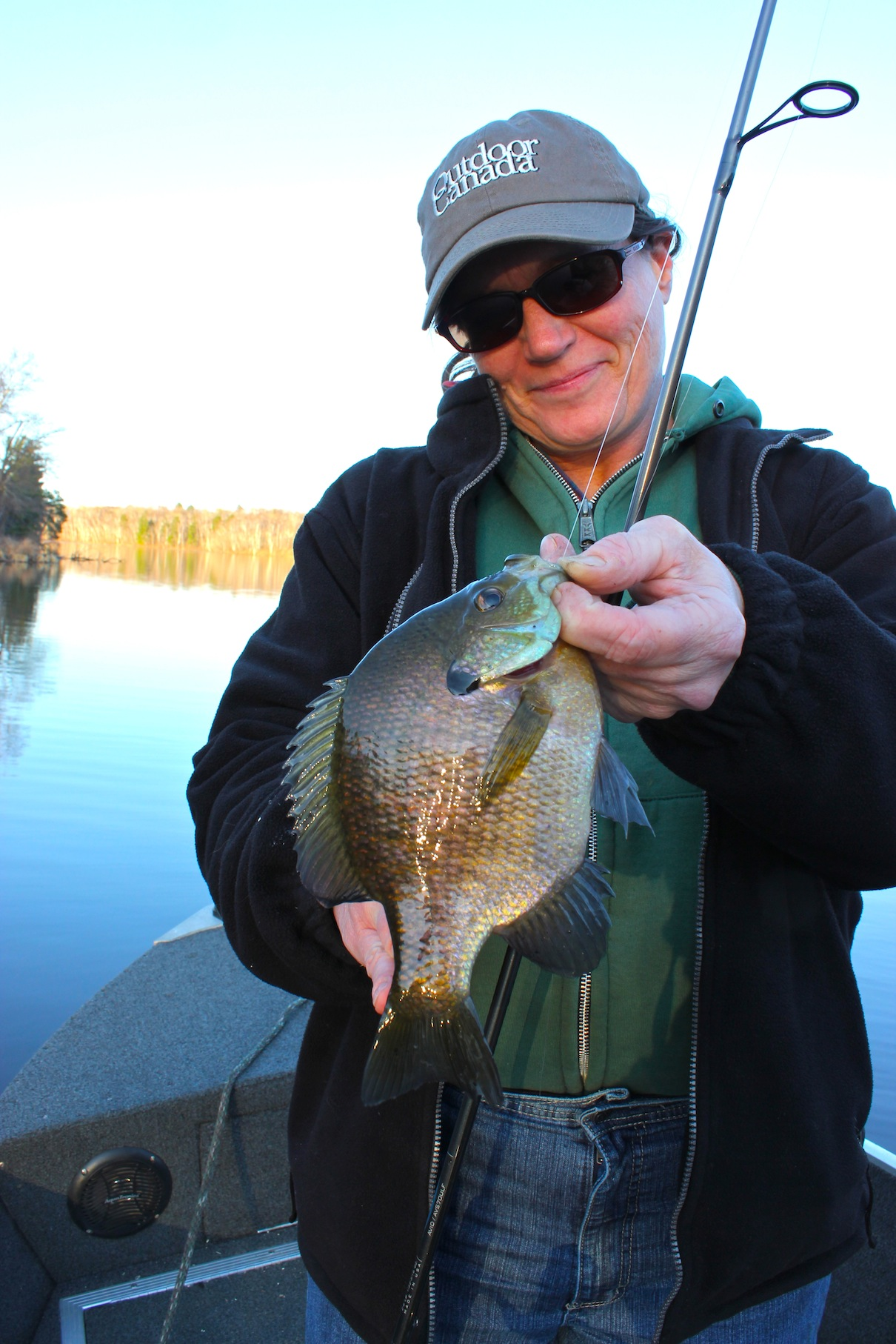 Spring bluegill things in fisherman for Blue gill fishing