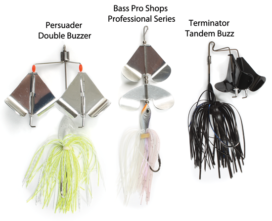 Catch Bass Using Buzzbaits
