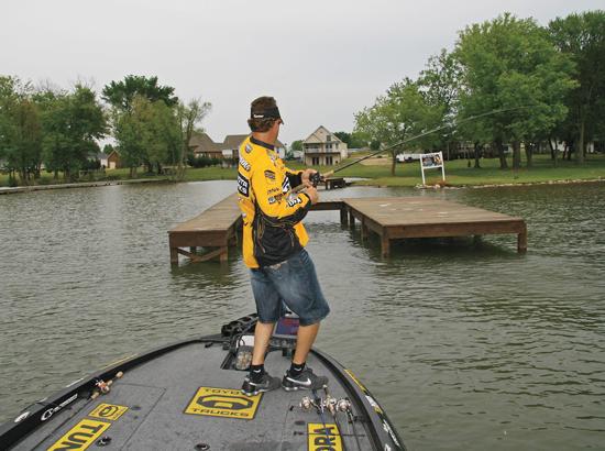 Dock Fishing Bass