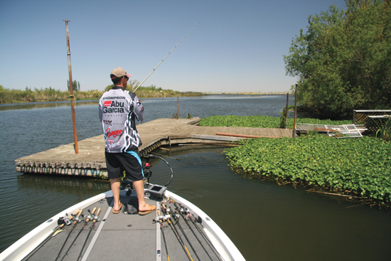 In many cases, boat dock fishing for bass offers some of the most predictable and dependable bass action you can find.