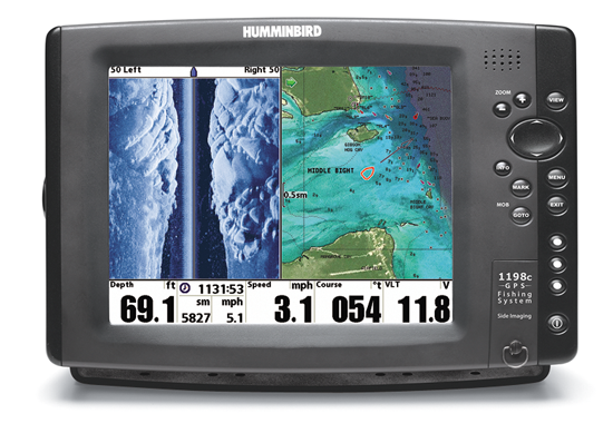 side-imaging sonar - in-fisherman, Fish Finder