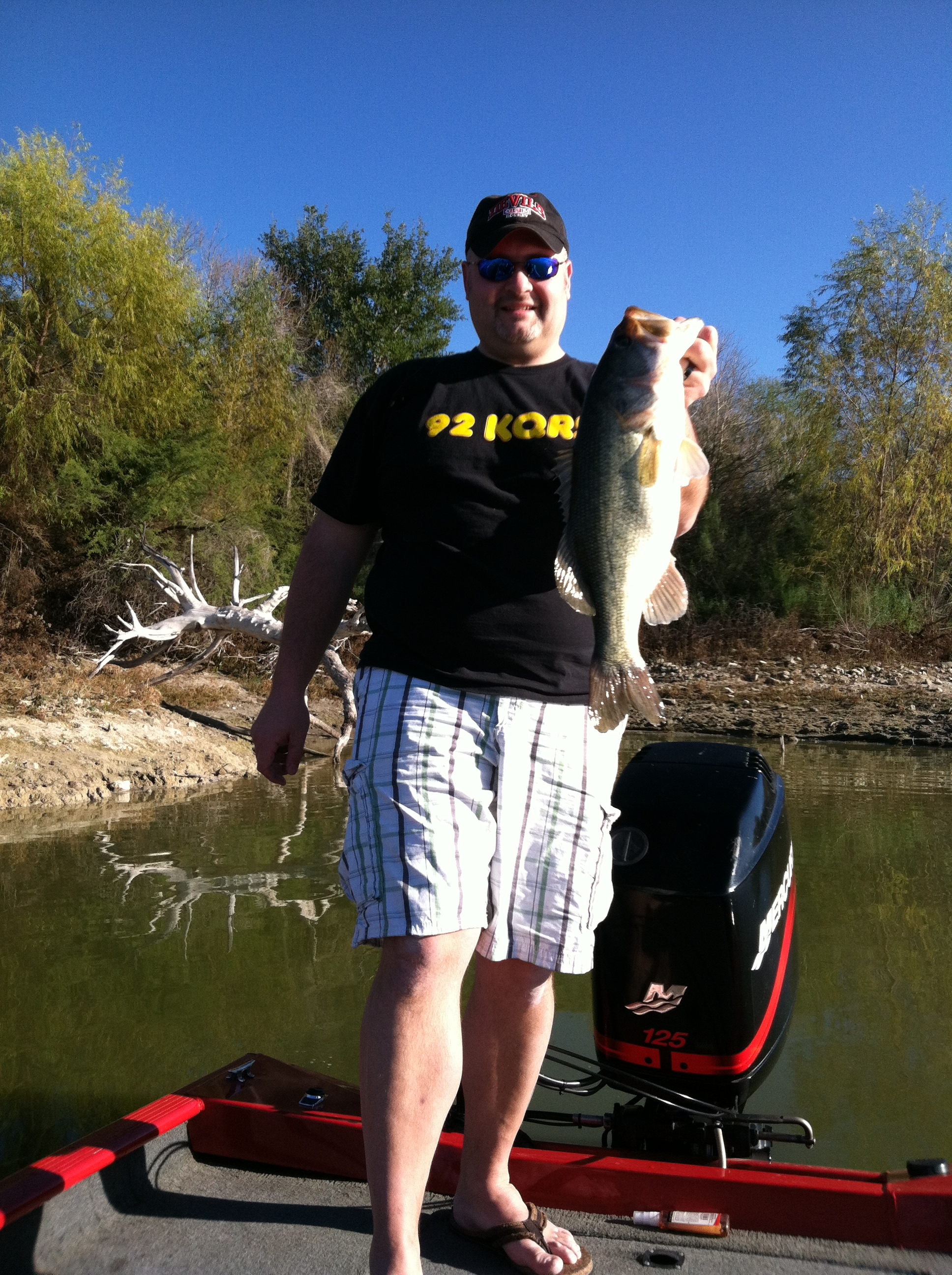 Chad Paffel Wausau Wisconsin  We were fishing in Janurary at Choke Canyon. I have never fished a