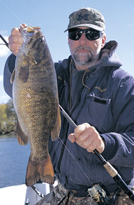During spring, river smallmouths have always posed something of a mystery.