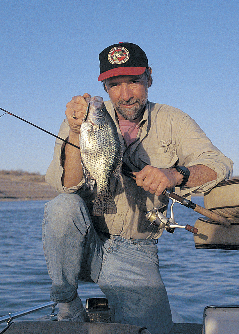 Drifting flats with longlines is a great way to cover territory and find fall crappies, especially