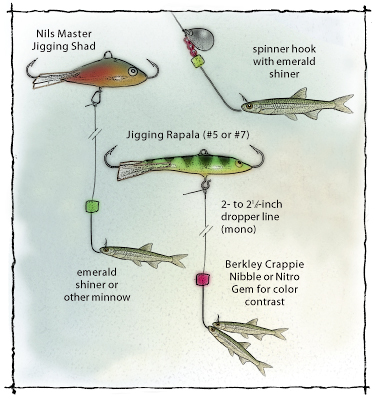 Panfish fishing rigs pictures to pin on pinterest pinsdaddy for Crappie fishing rigs
