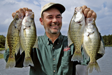 Roger Bullock, Greenbrier, Arkansas, is about the most traveled angler I know, save for