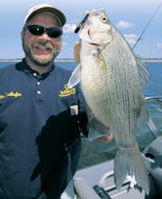 When talking white-bass fishing, the timetable typically starts at the spawn, for good reason.