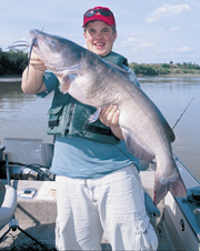 Every time I hit the water, I believe -- I know -- that I'm going to catch catfish. I'm excited