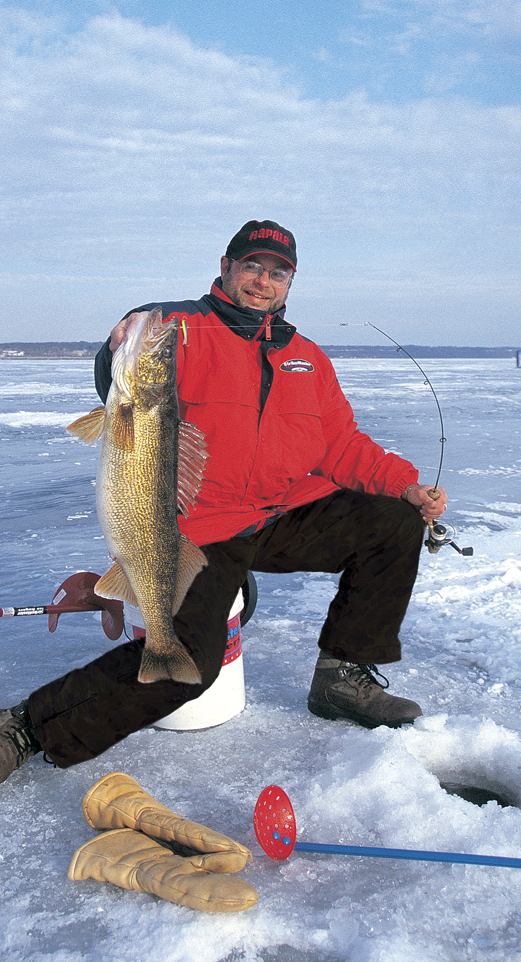 How little things have changed over the last 30 years when it comes to lures for winter walleyes.