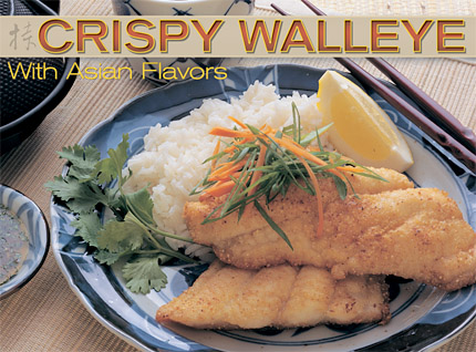 The dipping sauce is the key to this simple and distinctive way to accent your fish with Asian