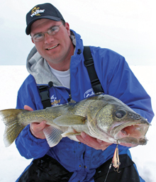 Ice Fishing: No Bait Required