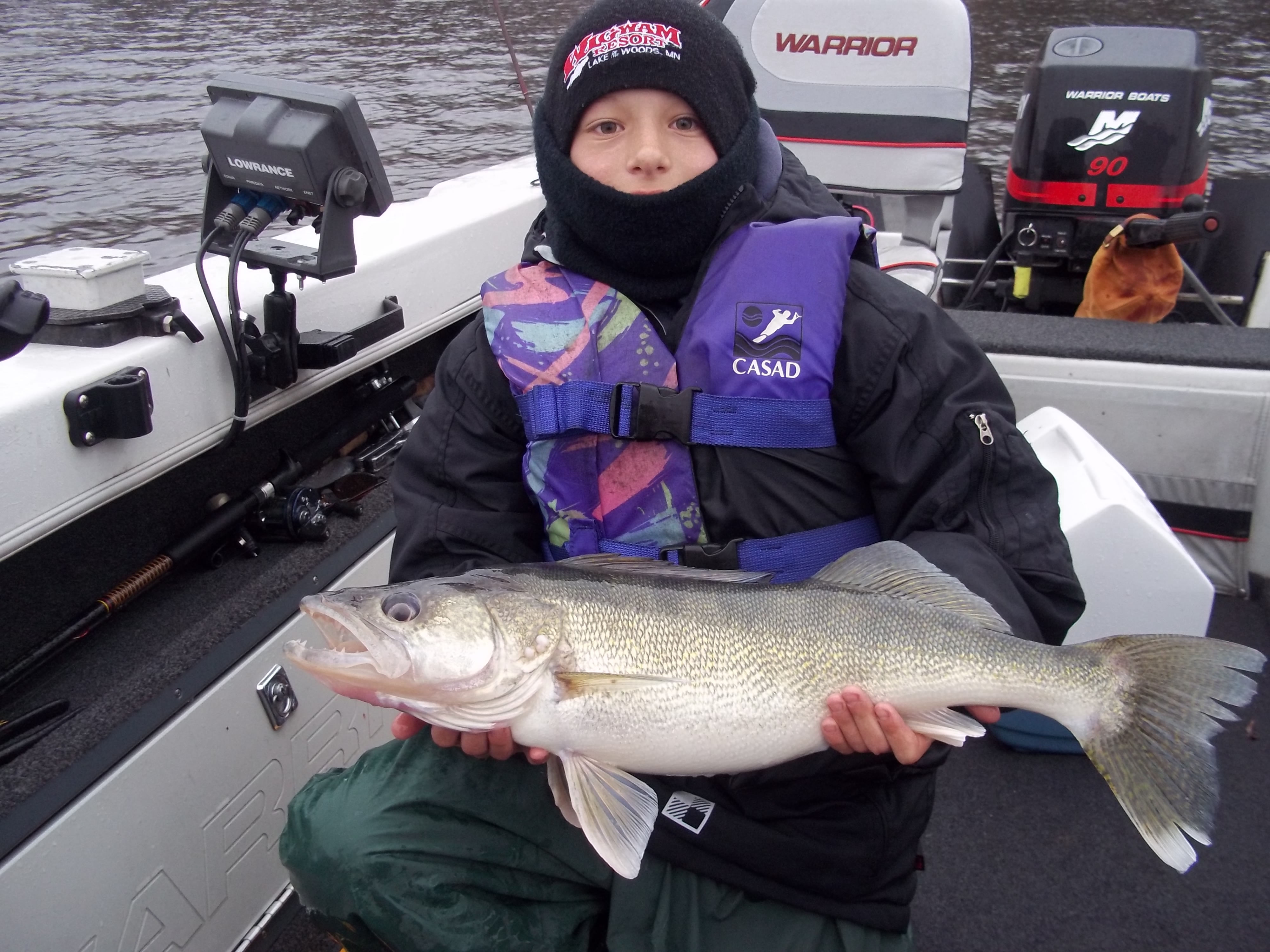 Griffin Blegen Baxter Minnesota    Species: Walleye Date Caught: 07/21/2012 Kept / Released: