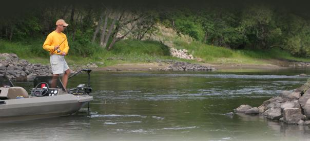 In flowing water, summertime river smallmouth pull out all the stops.