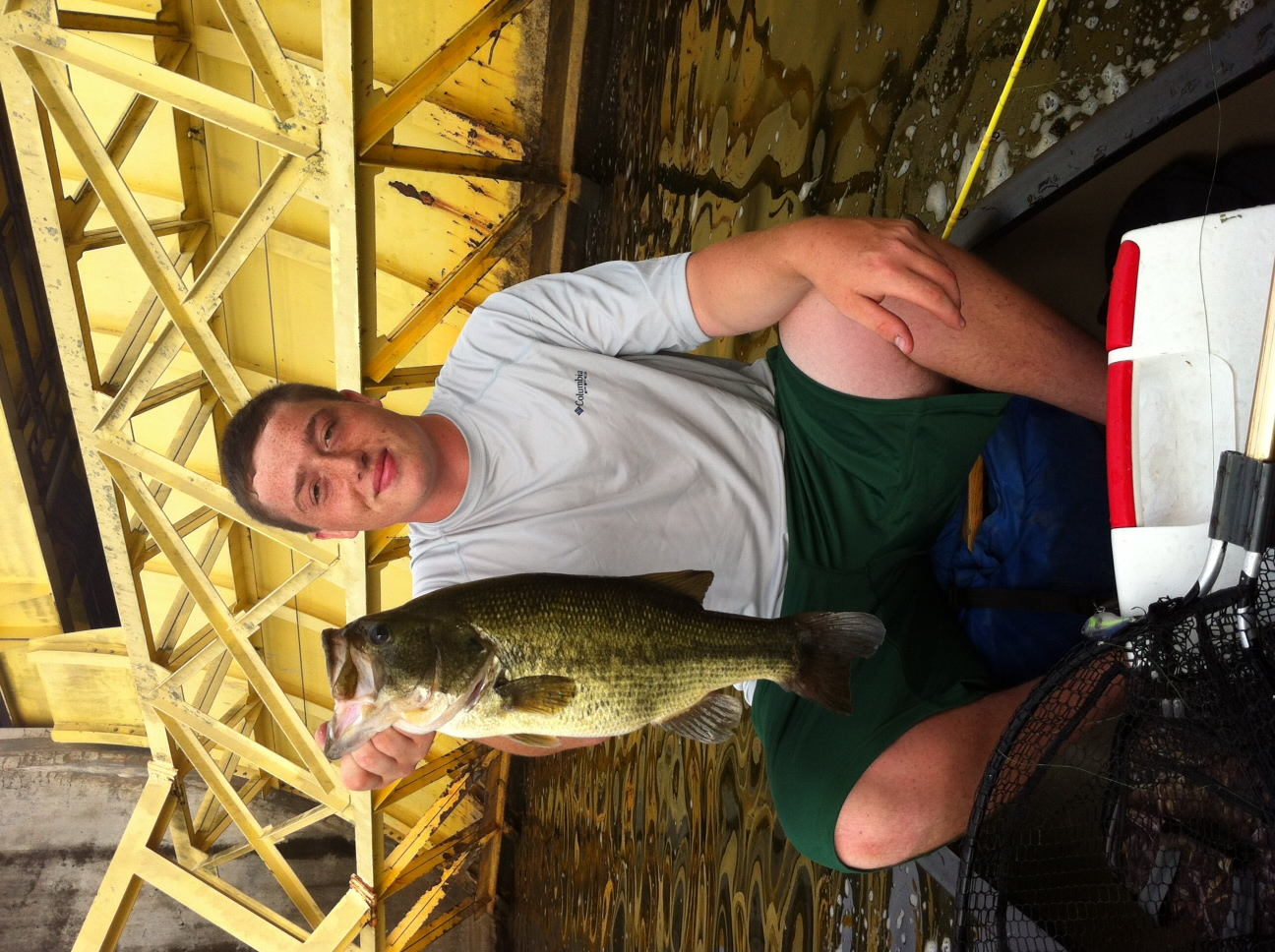 Wyatt Baumler Syracuse New York/ Region 1  Went fishing with my brother a day after a big rain