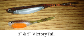 Finesse News Network's  Gear Guide: Victory Tail by Lucky Craft and Optimum Bait Company