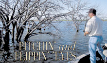 Spring is the best time to target shallow walleyes. It's the time for flippin' and pitchin' jigs to