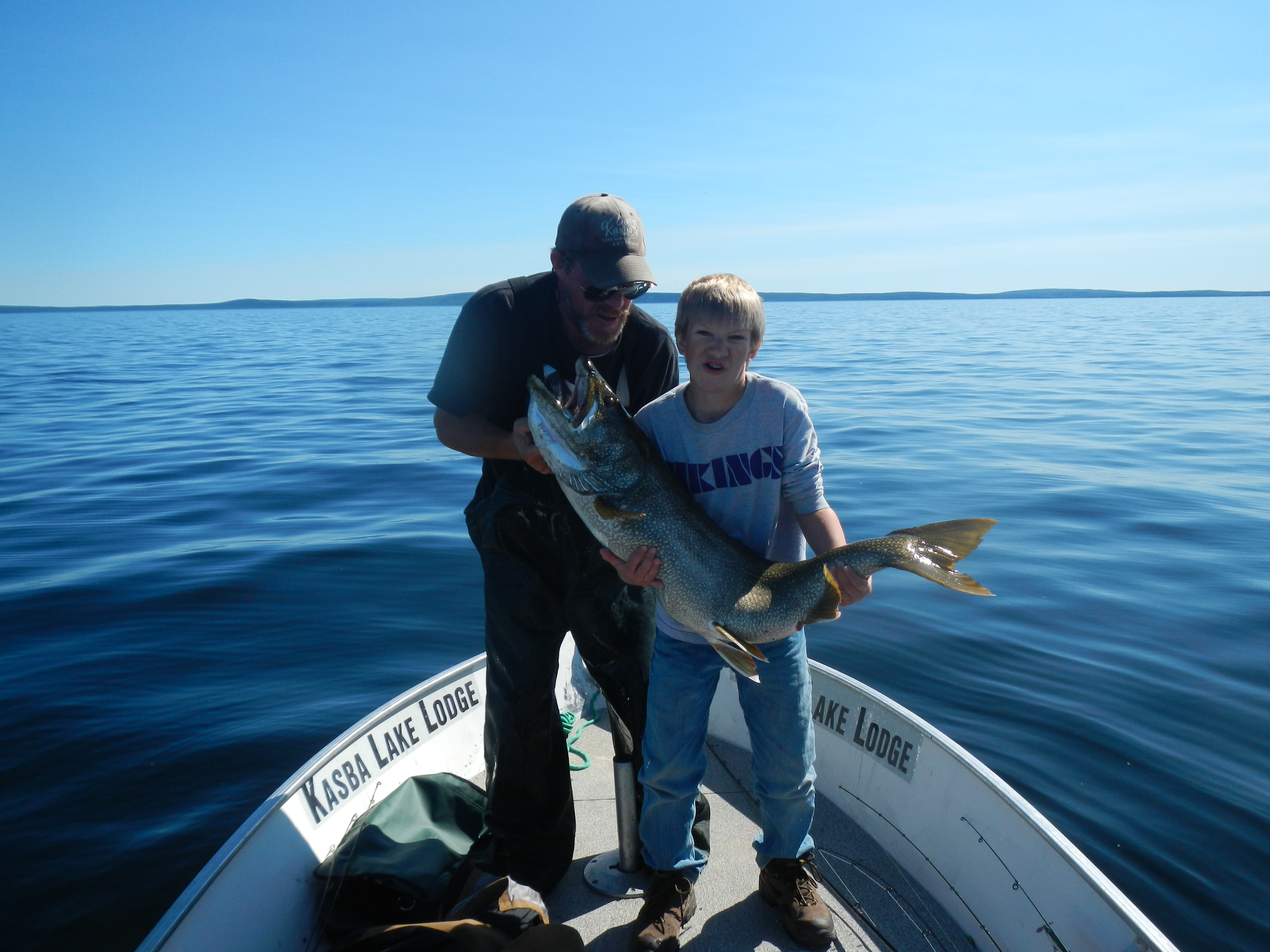 Monster Lake Trout