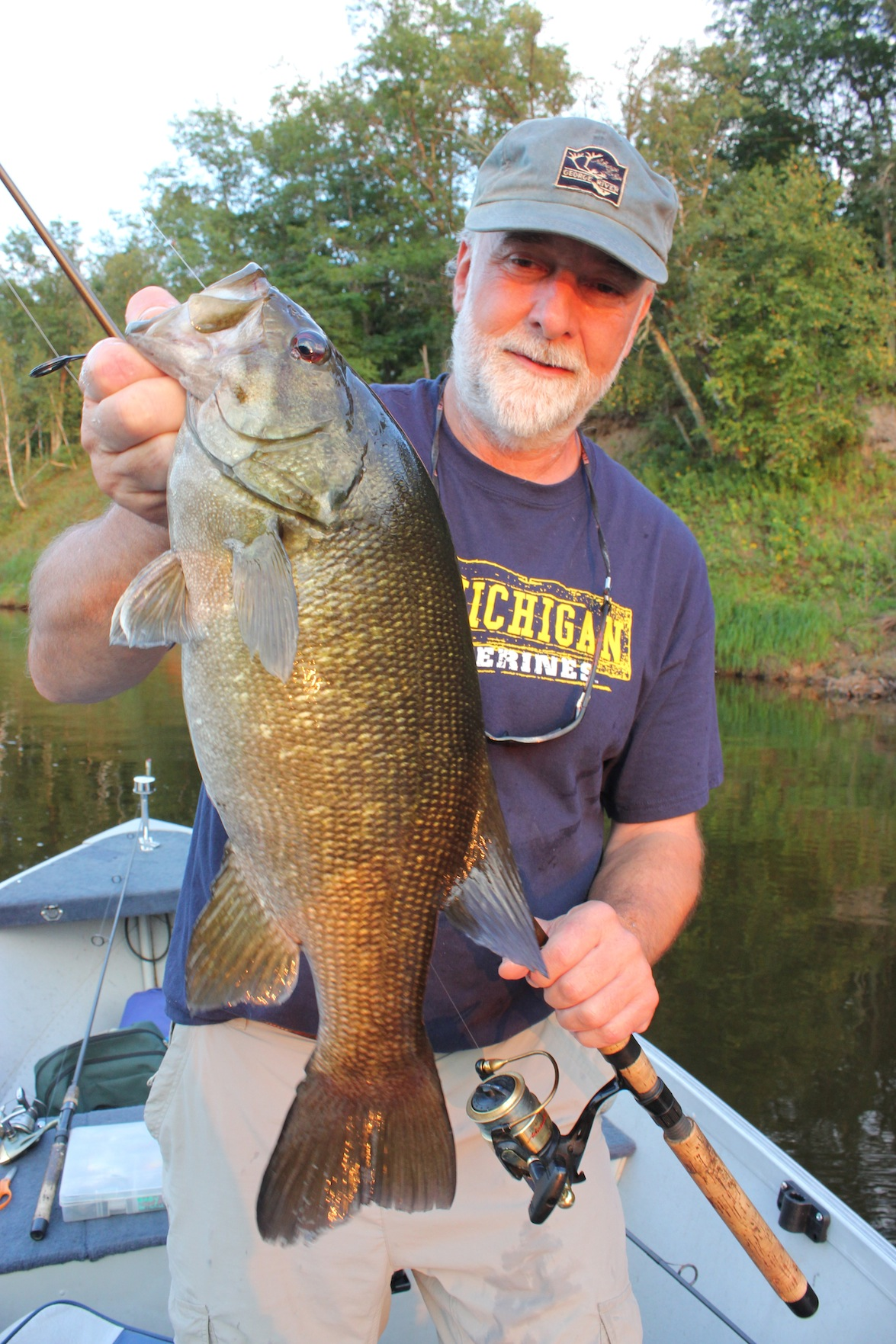 Every year it's the same quest: Find the errant, wandering tribes of river smallmouths in the