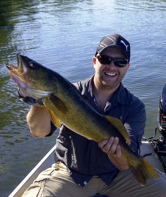 Scott  Beedham Ottawa Ontario  Met up with a Fraternity brother who got me back into fishing
