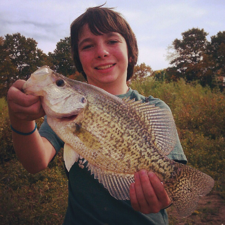 Noah Ransom Carlisle IA  I planned a fishing trip with my son, Noah, to a quarry we suspect has
