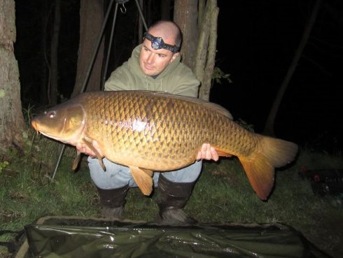 Brian Wingard Hollsopple Pennsylvania  I have been carp fishing for around 7 years now and I