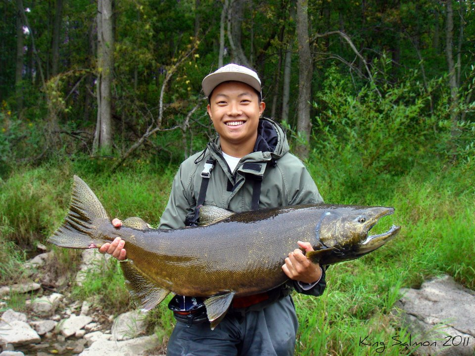 Ntomoo Lee St. Paul Minnesota  This was going to be my second year fly fishing for the king
