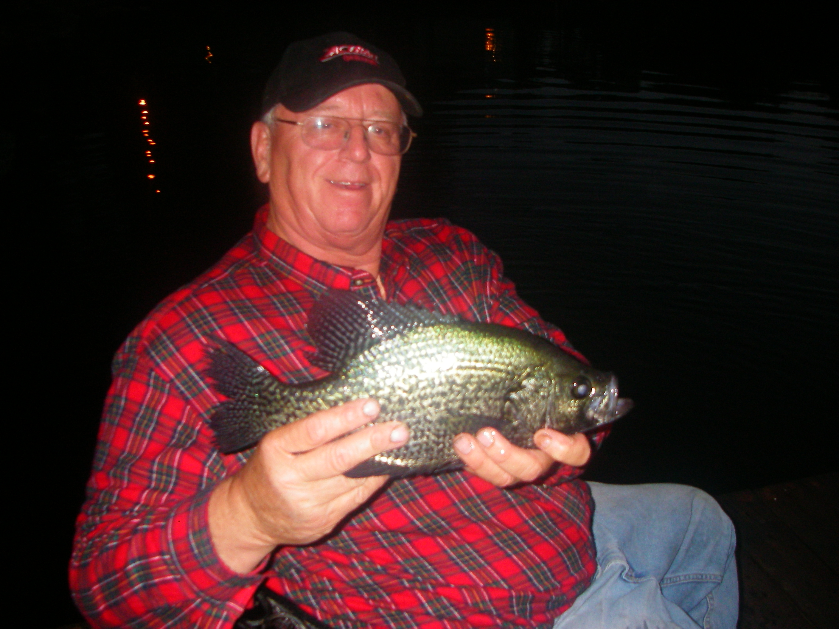 Crappie like bait at night