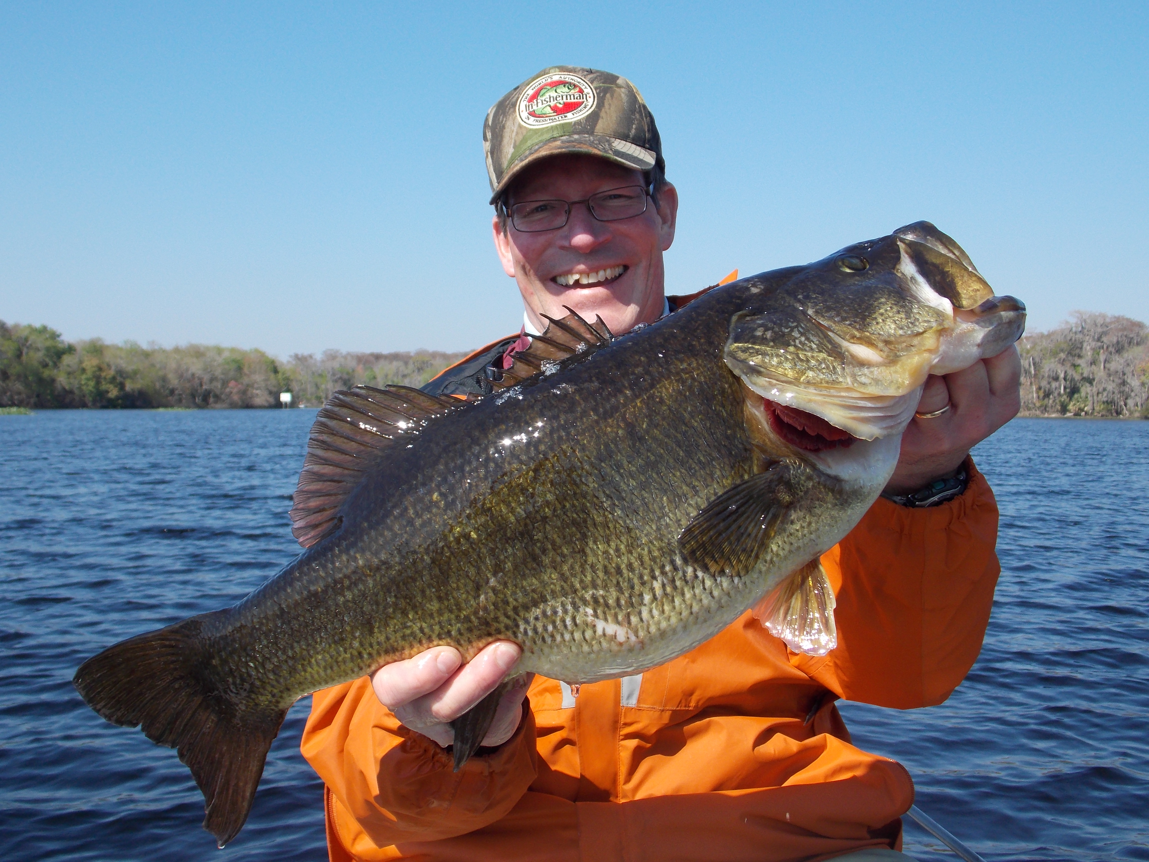 Steve Quinn travels to Florida in search of giant bass in the grass.