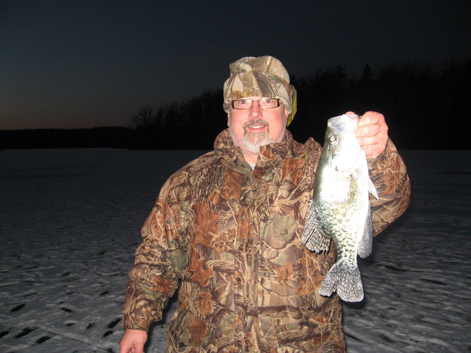 15-inch Ice Crappie