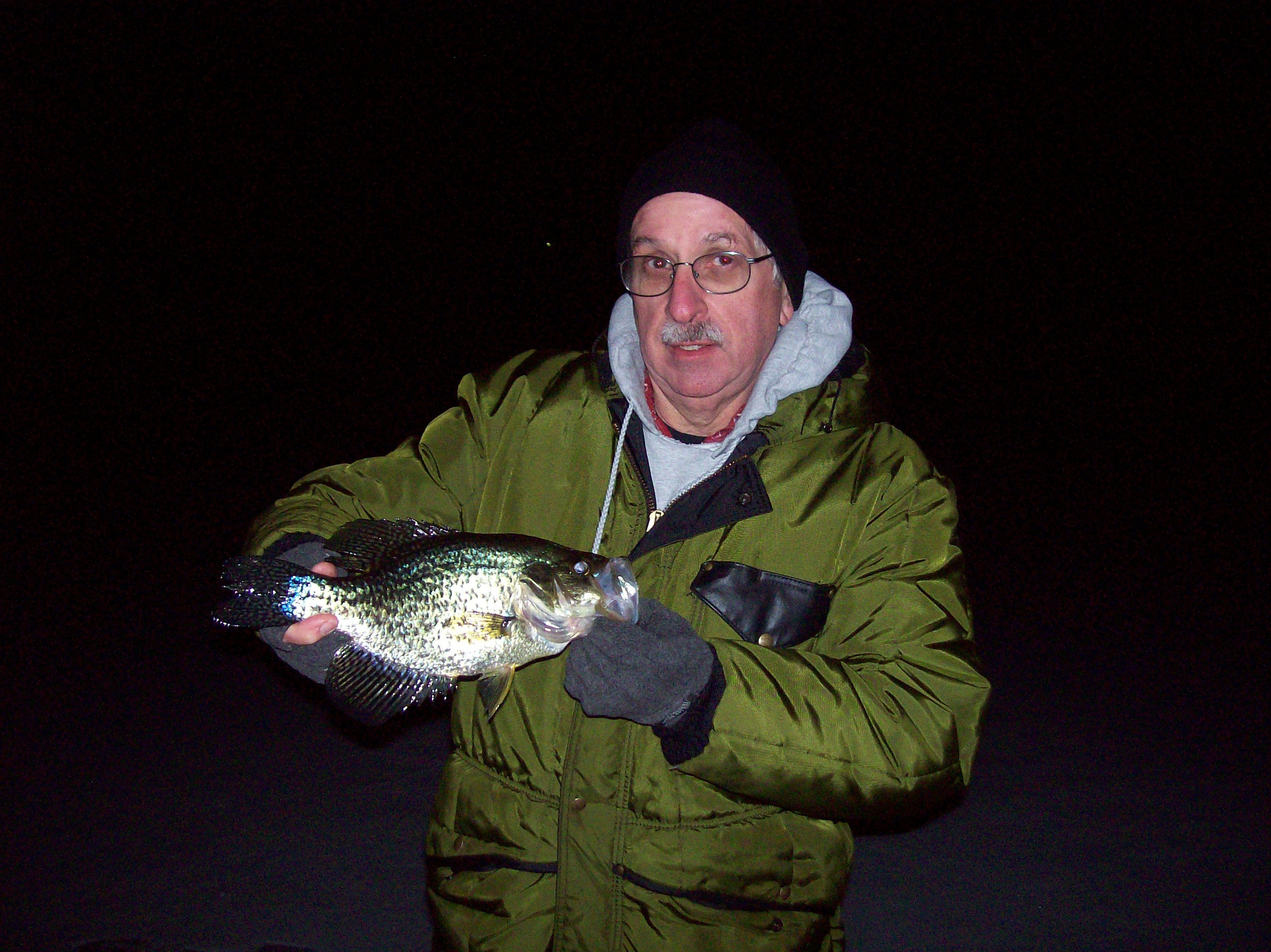 David  Hughes South Haven MI    Species: Crappie (Black or White) Date Caught: 03/06/2013 Kept /