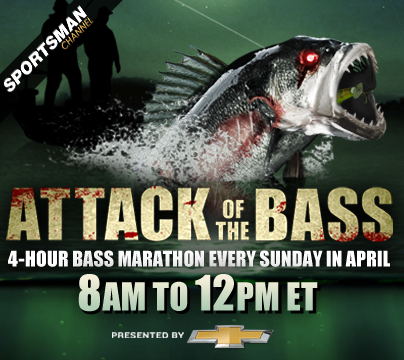 Beginning this Sunday, April 7, Sportsman Channel is hosting their annual month-long bass fishing