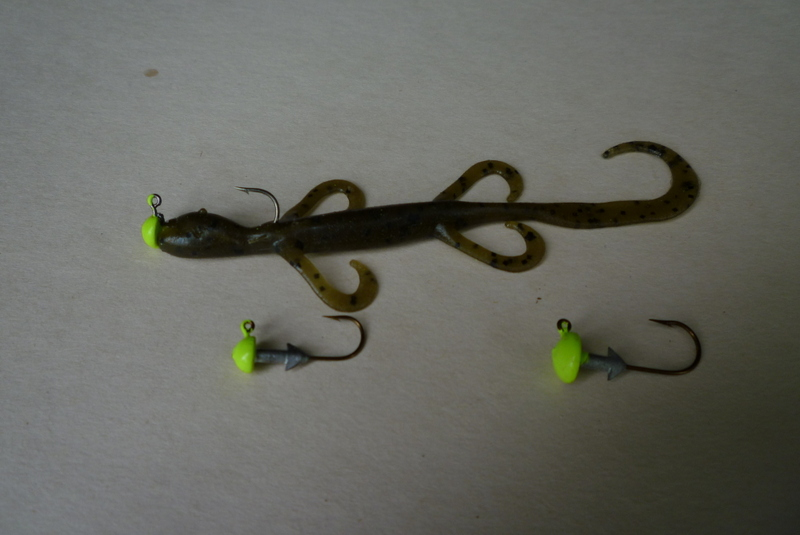 From Jan. 7 to April 22,  our best Midwest finesse baits on the flatland reservoirs of