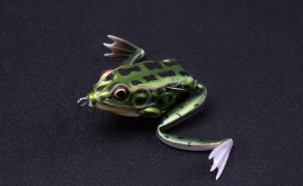Avid bass anglers know fishing fake frogs is one of the hottest techniques today for catching big bass.