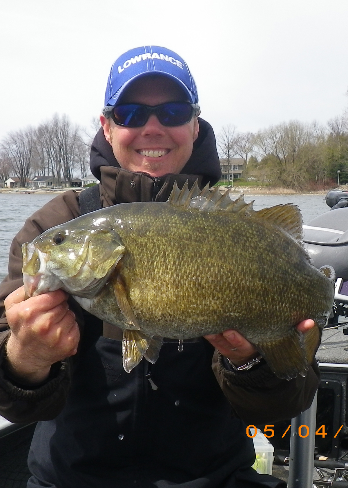 Steve  Kappel Elk Grove Village IL    Species: Smallmouth Bass Date Caught: 05/04/2013 Kept /