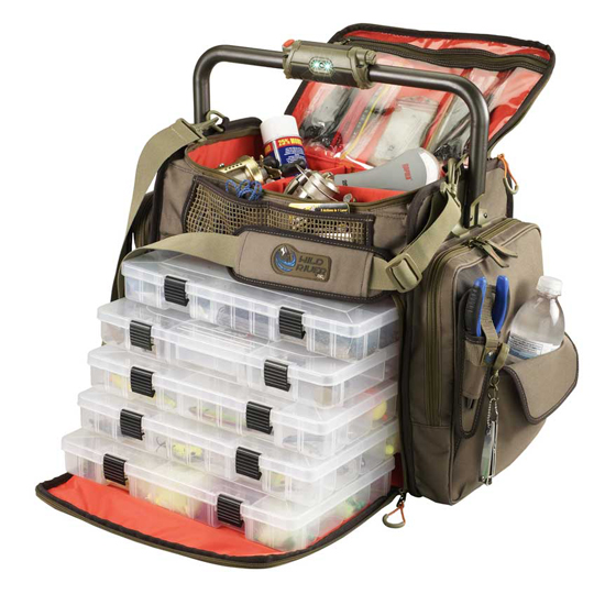 Soft-sided tackle storage bags are key allies in the never-ending fight to organize our tackle.