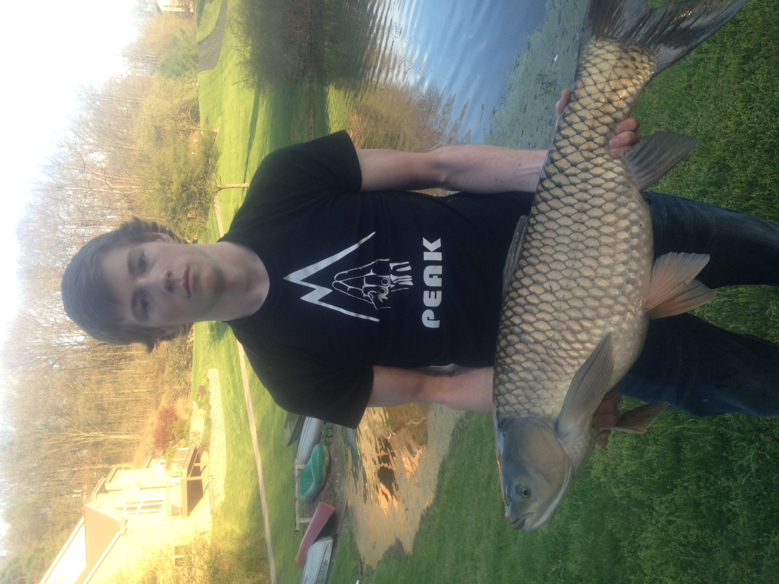 Grady Codd Mars Pa  when we grabbed our ultralight rod and reel setups to go after some pond
