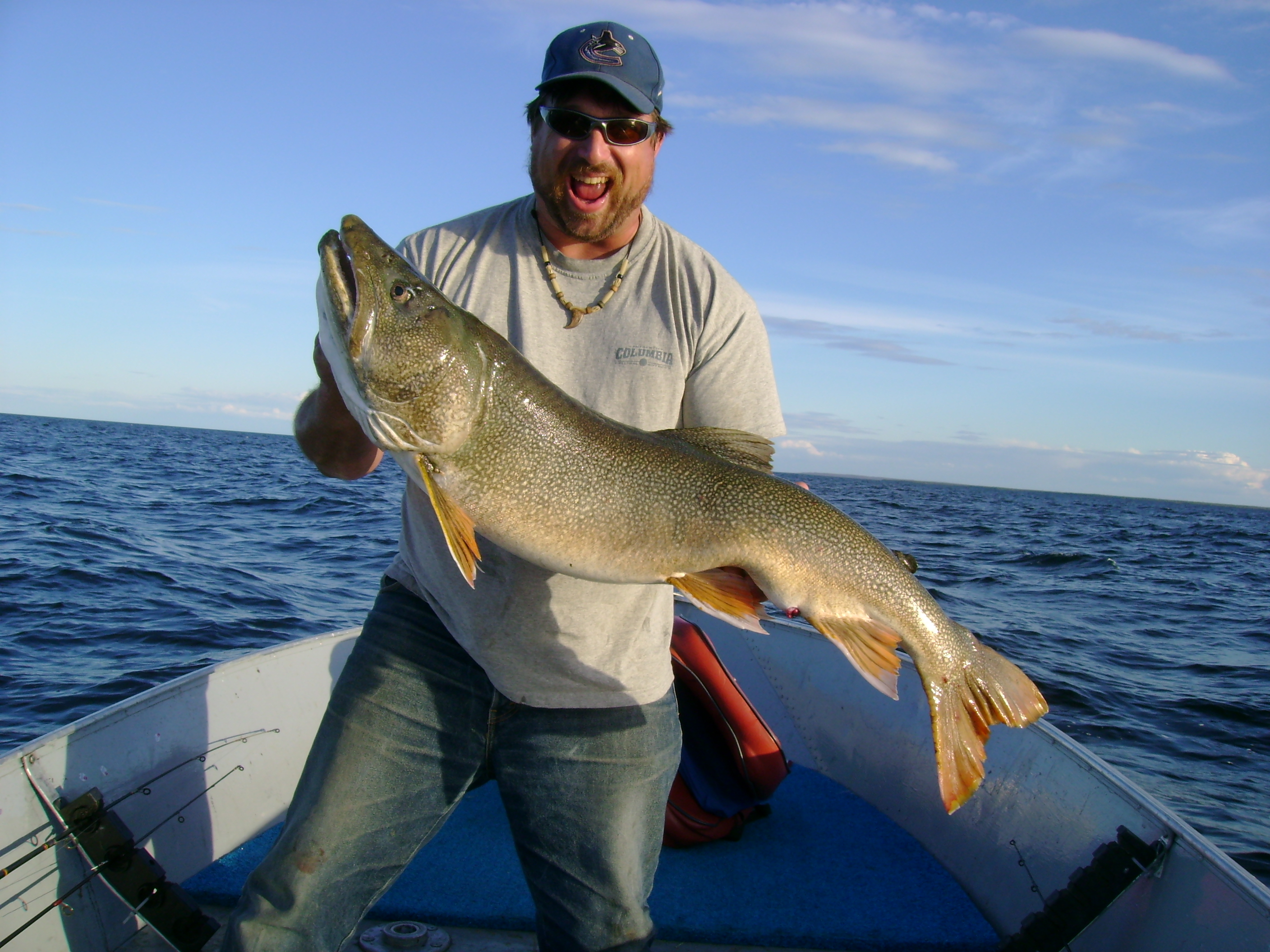38-Pound Lake Trout