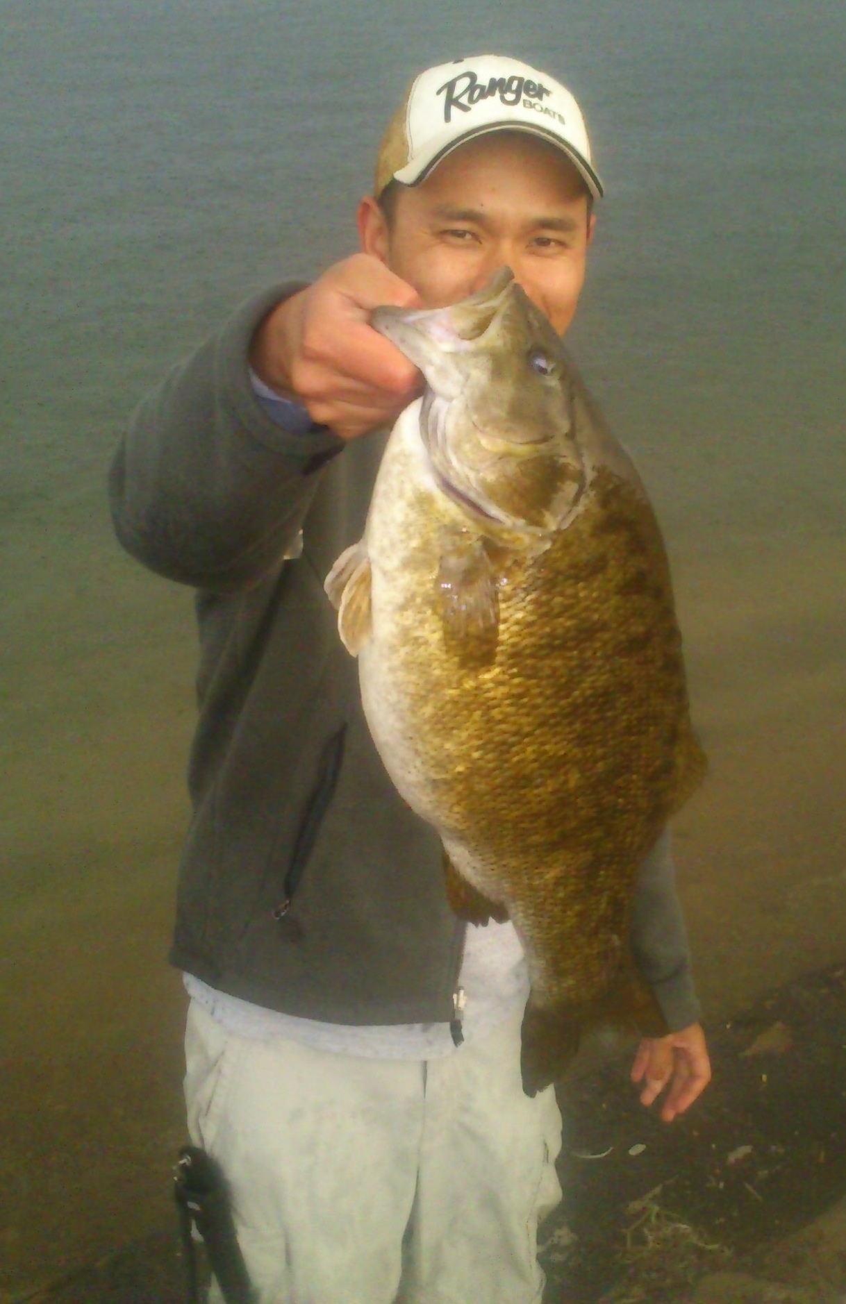 Raymond Ong Aurora Colorado    Species: Smallmouth Bass Date Caught: 06/04/2013 Kept / Released: