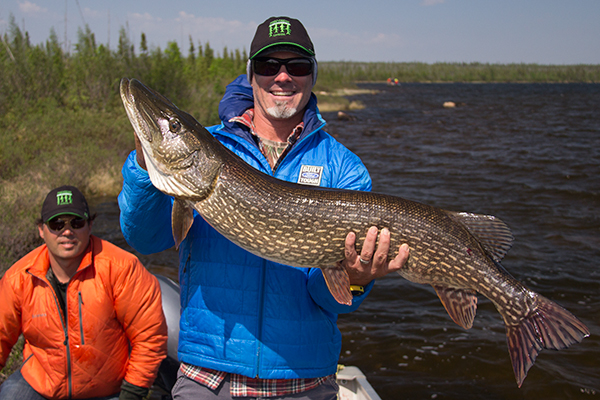 The Outfitter's host, Conway Bowman, heads north to the remote region of Saskatchewan for great