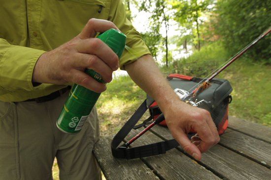Aerial assaults from mosquitoes, gnats, and other biting insects can ruin a fishing trip fast. No