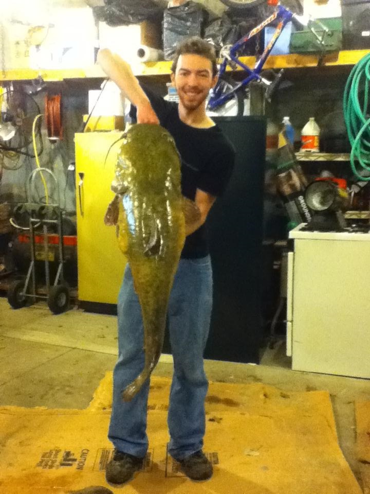 Dylan Jackson Council bluffs IA  The big baitcaster tipped with a live bluegill started to