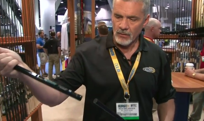 New St. Croix Muskie Rod from ICAST.