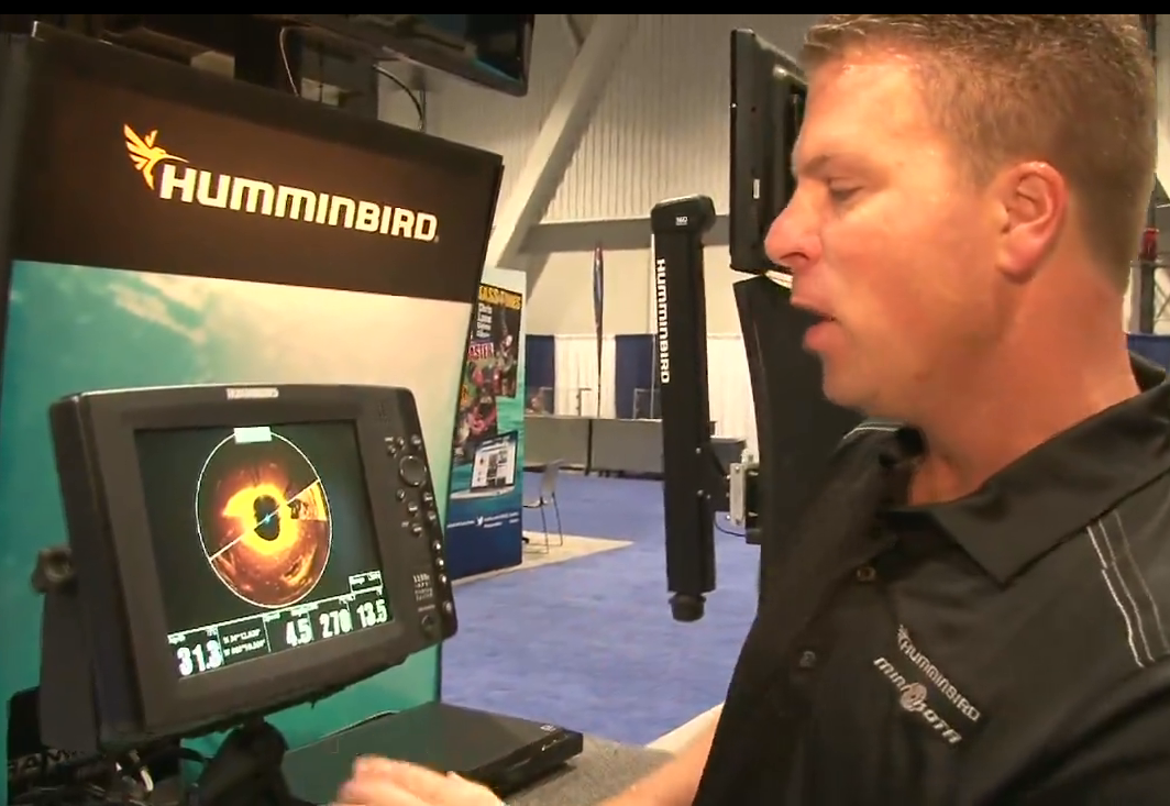 The new Humminbird 360 Bow Mount that can be added to select cable steer trolling motor with a