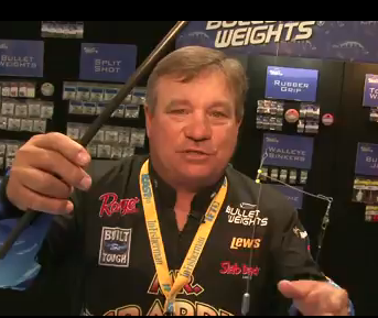 Mr. Crappie Wally Marshall shows off several of Bullet Weights new crappie trolling rigs. Whether