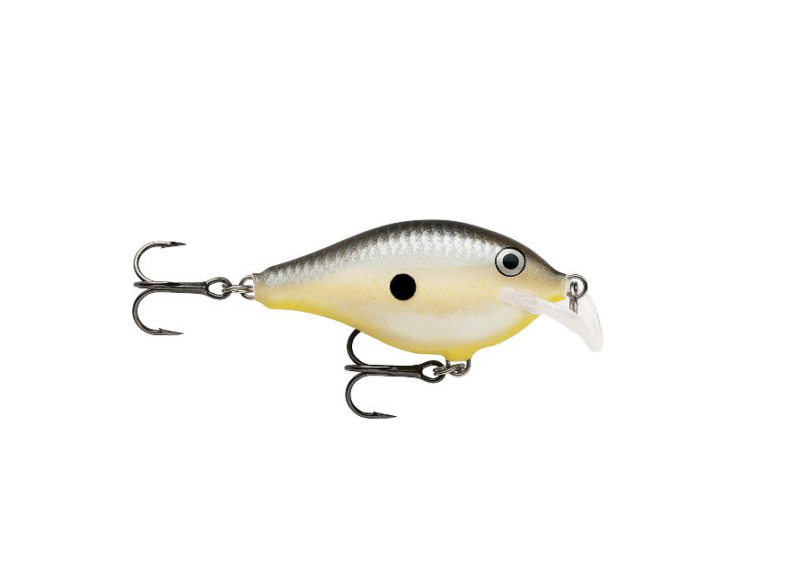 The Rapala Scatter Rap Crank is one of the four new balsa baits that Rapala introduced to the