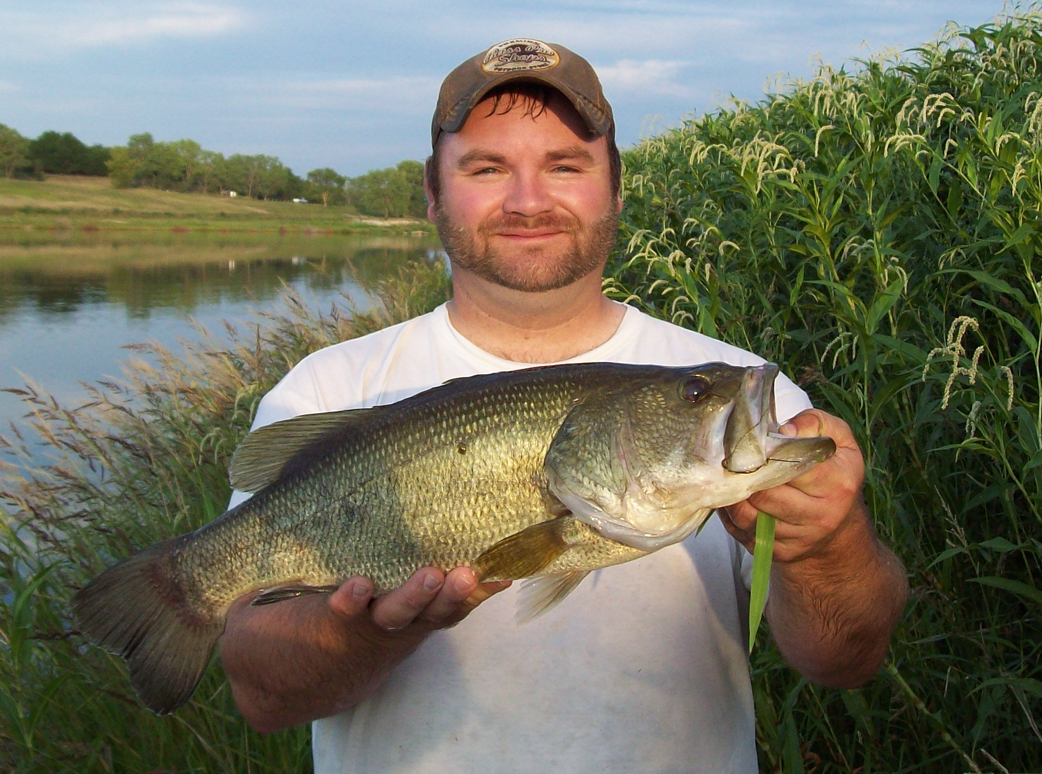 Dusty Schelbitzki Hallam Nebraska  Buddy and i went out for a bit of fishing one evening and had
