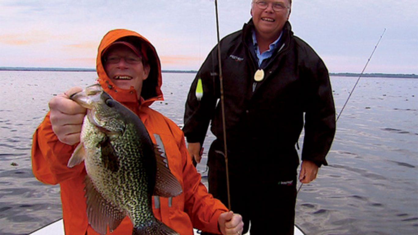 Finding Crappie in Florida
