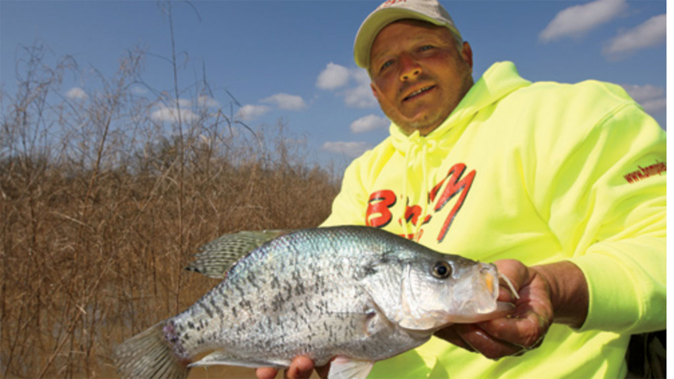 Finding Crappie in Mississippi
